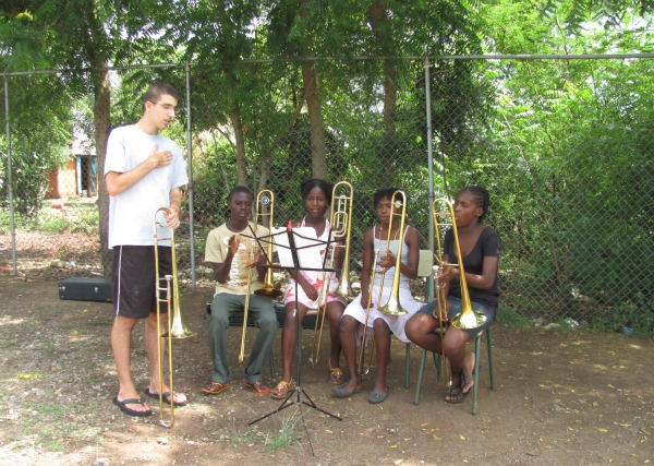 MUSIC CAMP AT SAINT BARTHELEMY